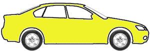 Lemon Peel touch up paint for 2021 Chevrolet Camaro