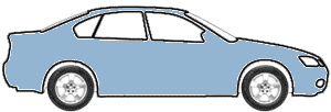 Light Blue Metallic  touch up paint for 1991 Mitsubishi Mirage
