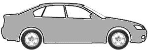 Light Silver Star Metallic  touch up paint for 1993 Dodge Dakota