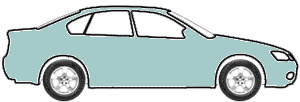 Light Teal Blue Metallic  touch up paint for 1986 Pontiac All Models