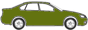 Lofoten (Alpine) Green touch up paint for 1975 Volkswagen Super Beetle