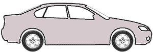 Logan Silver Metallic  touch up paint for 1995 Mitsubishi Galant