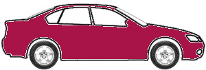 Madeira Red Metallic  touch up paint for 1988 Mitsubishi Precis