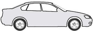 Mango Polar Silver Metallic (matt) touch up paint for 2015 Mercedes-Benz CLA-Class