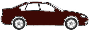 Maroon touch up paint for 1972 Ford All Models