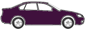 Medium Aubergine Metallic  touch up paint for 1995 Ford F150
