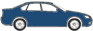 Medium Blue Metallic  touch up paint for 1990 GMC M Van