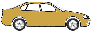 Medium Gold Metallic touch up paint for 1977 Mercury All Models