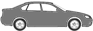 Medium Gray Metallic touch up paint for 1989 GMC All Models