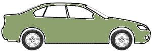 Medium Sage Green Pri Metallic  touch up paint for 2002 Oldsmobile Bravada