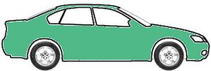 Mint Green Metallic  touch up paint for 1991 Volkswagen Golf