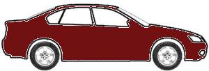 Monaco Maroon Metallic  touch up paint for 1987 Mitsubishi Two-Tone