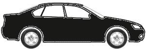 Nacht Black Metallic (matt) touch up paint for 2013 Mercedes-Benz C-Class