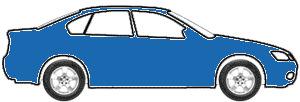 Nassau Blue touch up paint for 1986 Fleetwood Motorhome