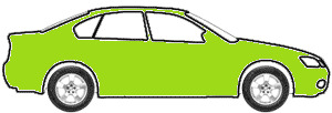 Nitro Yellow-Green  touch up paint for 1995 Plymouth All Other Models
