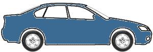 Ocean Blue Metallic touch up paint for 2006 Audi TT