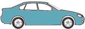 Oceanic Blue Metallic touch up paint for 1984 Audi Quattro