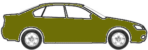 Olso Green Pearl  touch up paint for 1996 Mitsubishi Galant