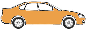 Orange Metallic  touch up paint for 1974 Audi All Models