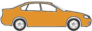 Orangeburst Metallic  touch up paint for 2012 Honda Fit