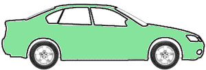 Pastel Green touch up paint for 1988 Land-Rover All Models