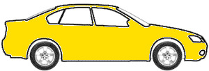 Pastel Yellow  touch up paint for 2000 Hyundai Accent-Brio