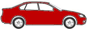 Performance Torch Red (matt/wheel) touch up paint for 2018 Chevrolet Corvette