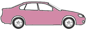 Pink Coral Pearl Metallic  touch up paint for 1994 Ford Aspire