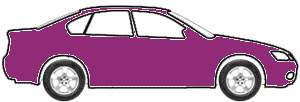 Plum Metallic  touch up paint for 1993 Saturn SL1