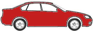 Radiant Fire Metallic  touch up paint for 1993 Dodge Caravan
