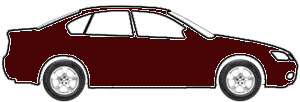 Regent Maroon Poly touch up paint for 1967 Cadillac All Models