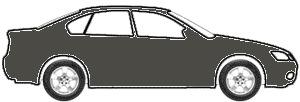 Satin Graphite Metallic (matt/wheel) touch up paint for 2017 Chevrolet Camaro