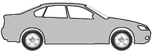 Satin Silver Metallic  touch up paint for 2004 Acura EL