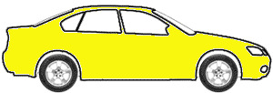 Saturn Yellow touch up paint for 1973 Volkswagen Super Beetle