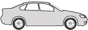 Silver Metallic  touch up paint for 1988 Oldsmobile All Models