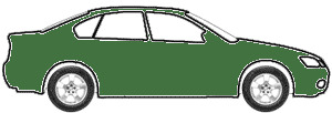 Silvertone Green Poly touch up paint for 1958 Ford All Models