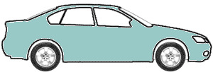 Sky View Blue (PPG 12997) touch up paint for 1969 Ford Mustang