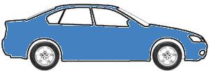 South Seas Blue Metallic touch up paint for 2016 Mercedes-Benz B-Class