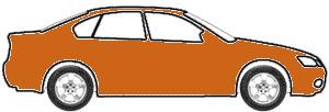 Sunburst Orange Pearl touch up paint for 2013 Honda Civic