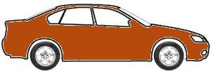 Sunburst Orange Pri Metallic  touch up paint for 2004 GMC Canyon