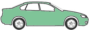 Taiga Metallic (Light Green)  touch up paint for 1973 BMW 2800