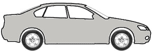 Tech Silver Metallic  (Wheel) touch up paint for 2010 Dodge Dakota