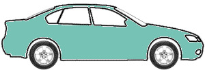 Tennessee Blue Metallic  touch up paint for 1990 Mitsubishi Mirage