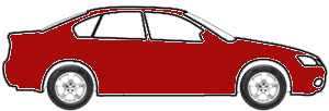 Toreador Red Pearl Tricoat touch up paint for 1998 Lincoln All Other Models