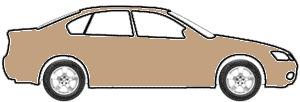 Trafalgar Brown Metallic  touch up paint for 1988 Mitsubishi Precis