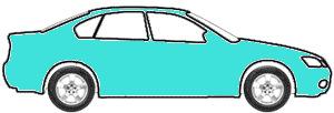 Tropic Turqoiuse touch up paint for 1958 Chevrolet Corvette