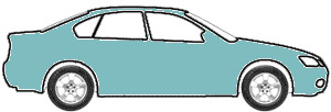 Turquoise Metallic  touch up paint for 1972 Audi All Models