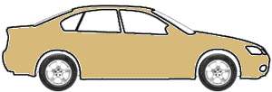 Valencia Gold Metallic  touch up paint for 1987 Mitsubishi Two-Tone