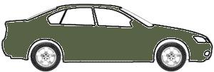 Verde Brook Metallic touch up paint for 2015 Mercedes-Benz S-Class