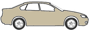 Wheat Beige Metallic  touch up paint for 1991 Mitsubishi Galant